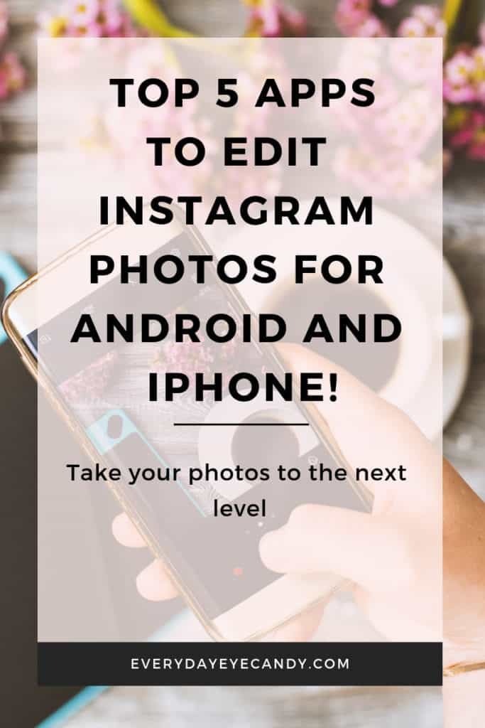 Apps to edit photos for instagram
