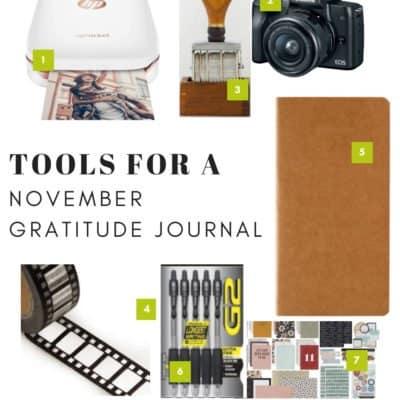 November Gratitude Journal