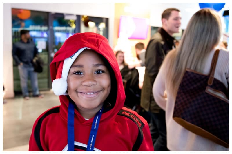 Holiday Family fun at The onUp Experience at the Battery Atlanta