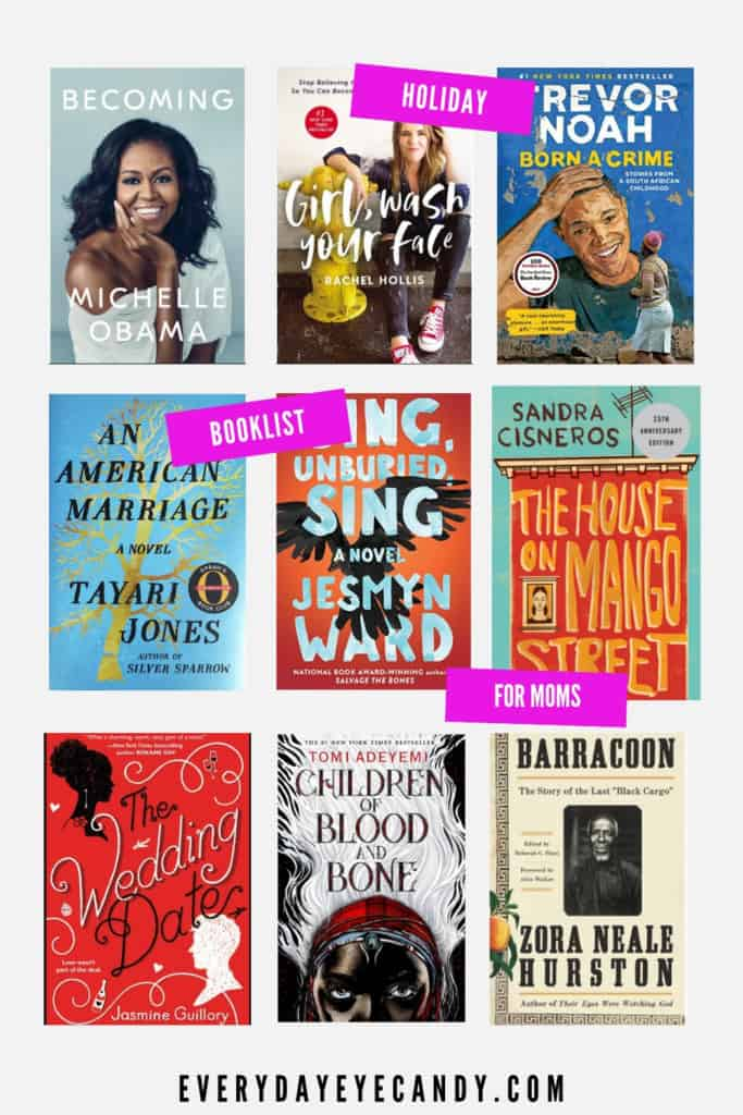 holiday book list for moms