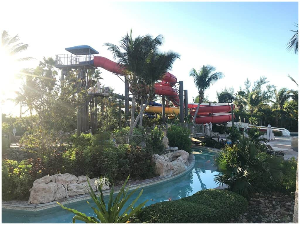 tweens at beaches can enjoy the waterpark with many slides
