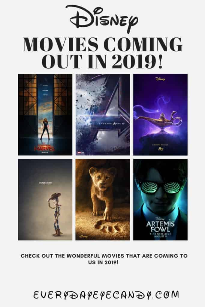 Disney Movies Coming Out in 2019!