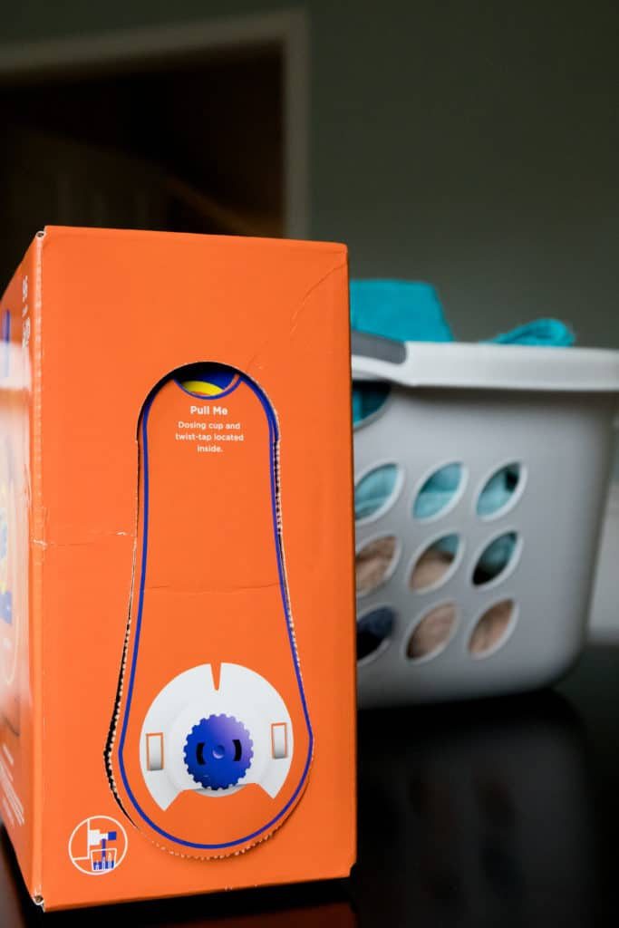 Organizing my Laundry Room with Tide EcoBox