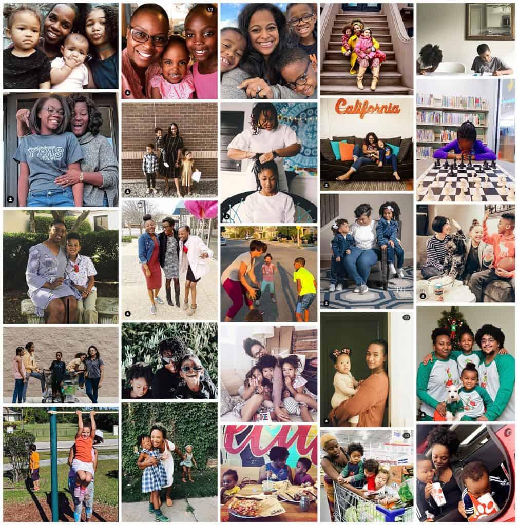 black moms on instagram