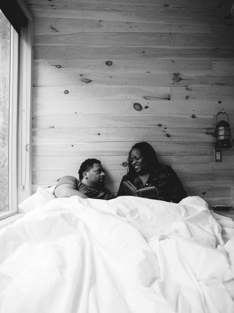 Couples retreat at Getaway House Atlanta
