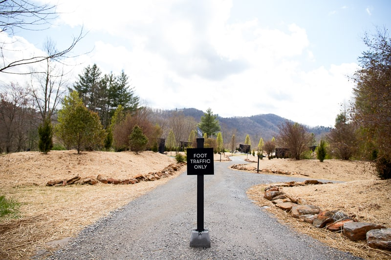 the path to your Getaway House Atlanta