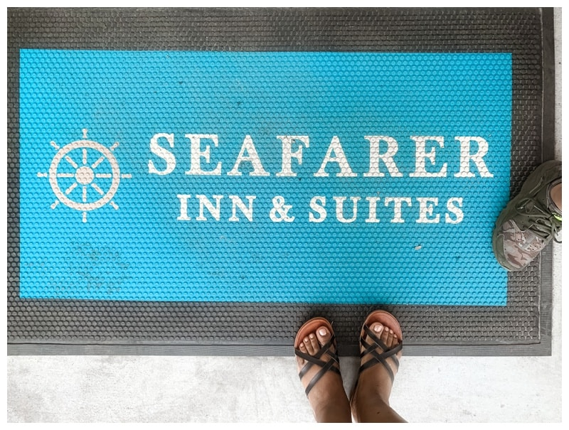 family roadtrip to Jekyll Island to the Seafarer Inn and Suites.