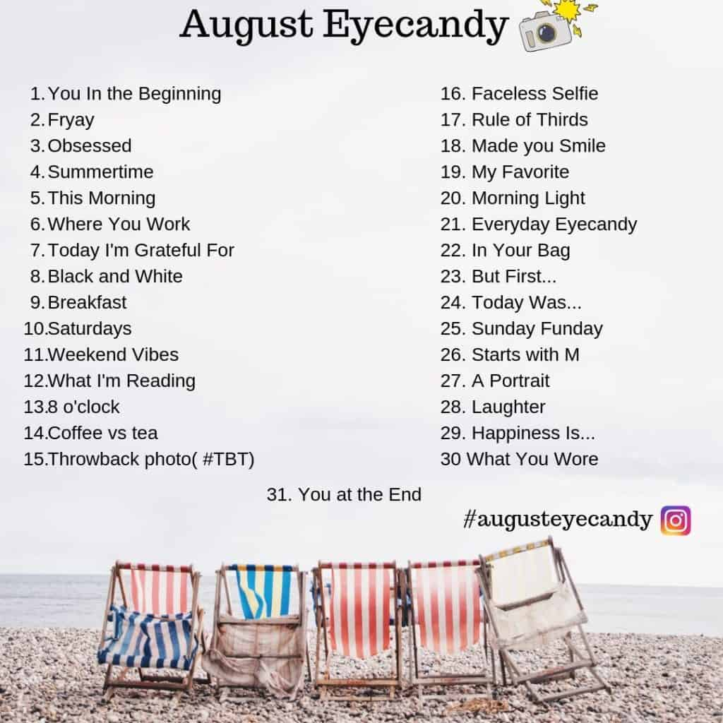 august eyecandy photo a day 2019