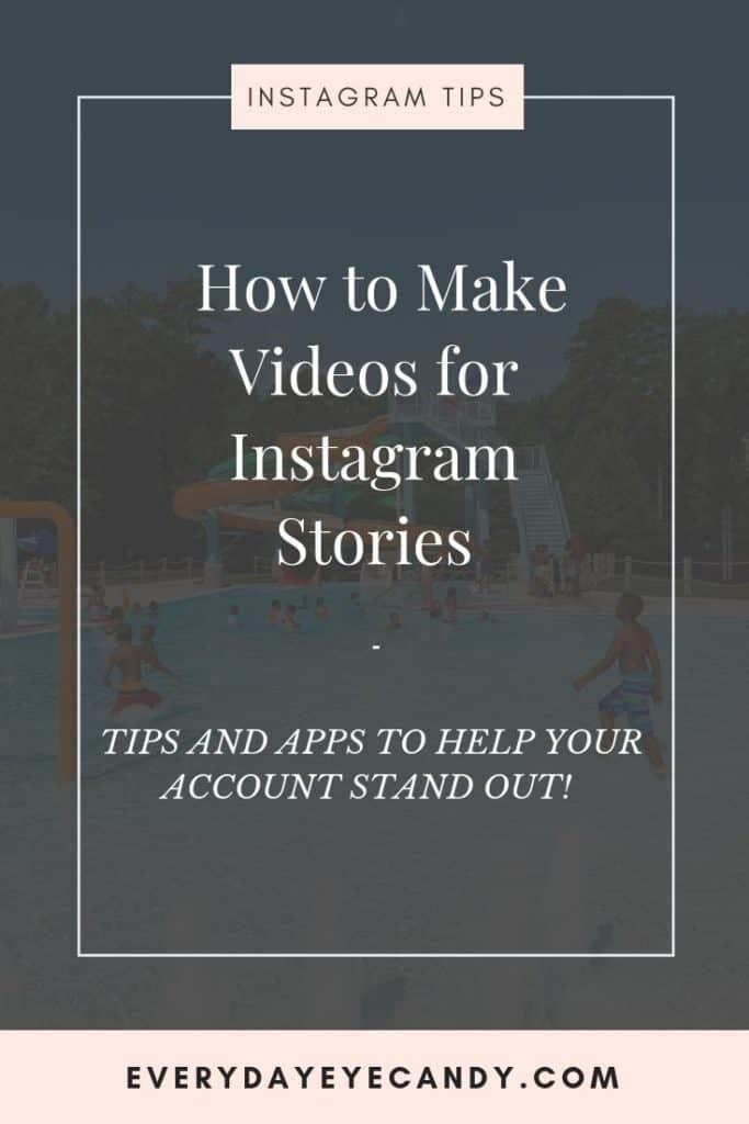 videos for Instagram stories