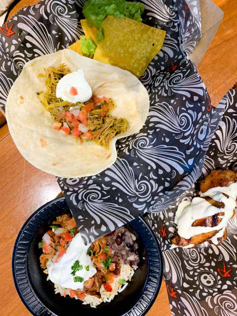 food choices at disney wide world of sports 4 rivers cantina