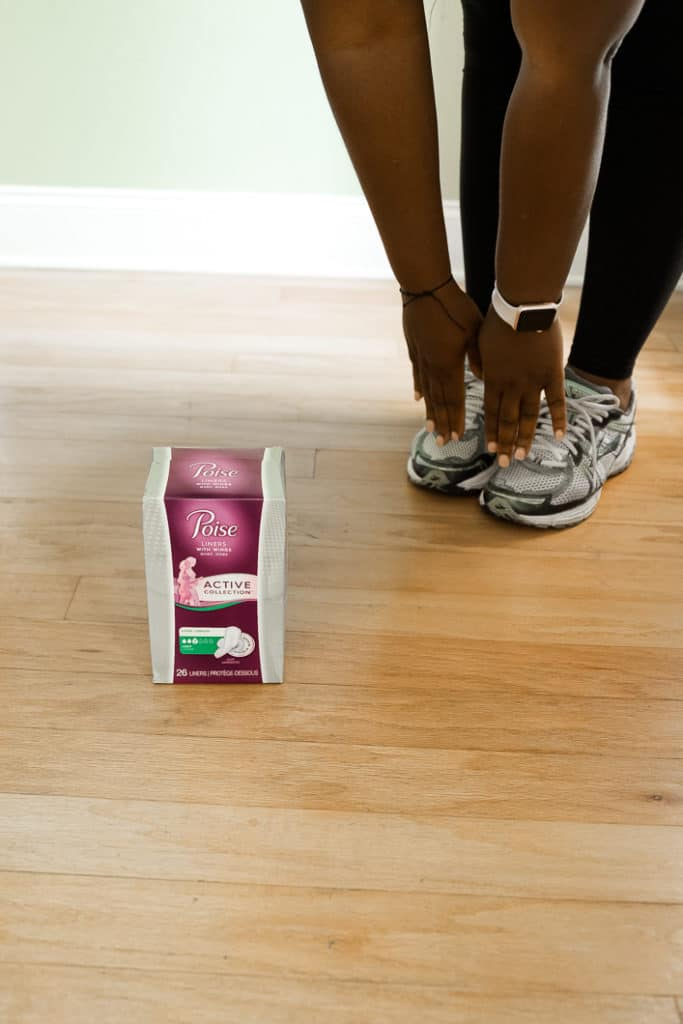 poise helps me with my back to school routines
