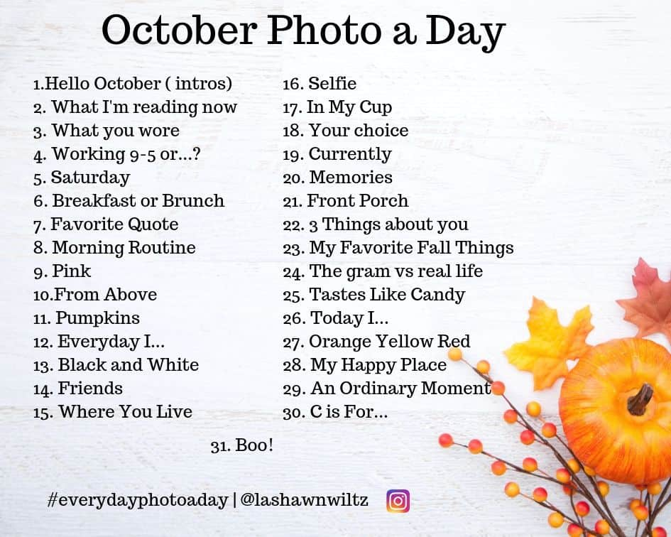 2019 October Photo a Day