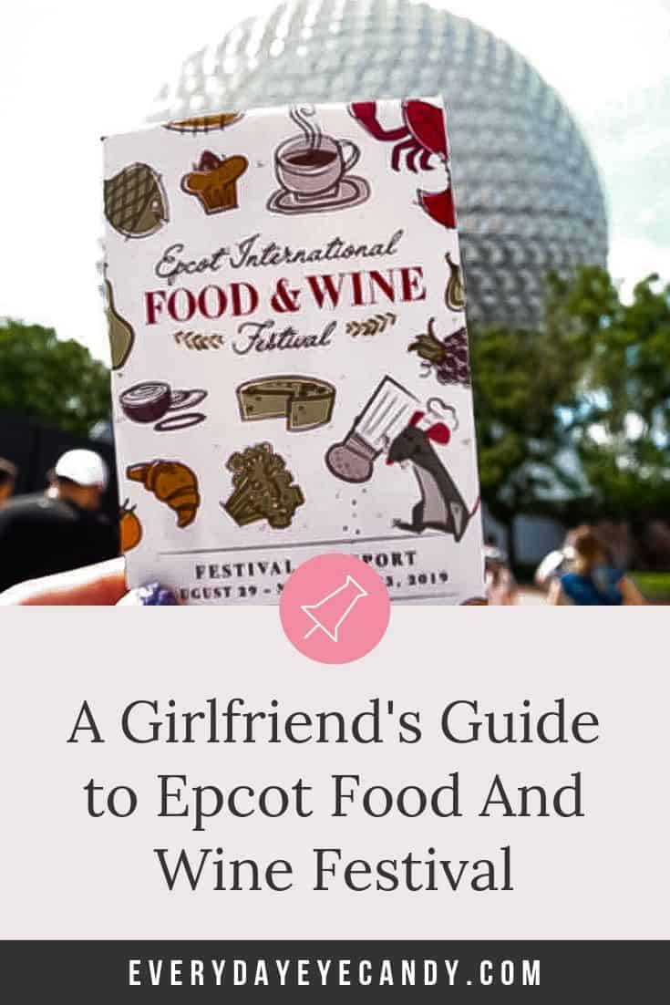 The Ultimate Guide to Epcot Food and Wine Festival 2019 ! a From menu, concerts,   drinks and more! This is the complete guide for all you need to have fun #epcotfoodandwine #epcot #disneyworld #disney2019