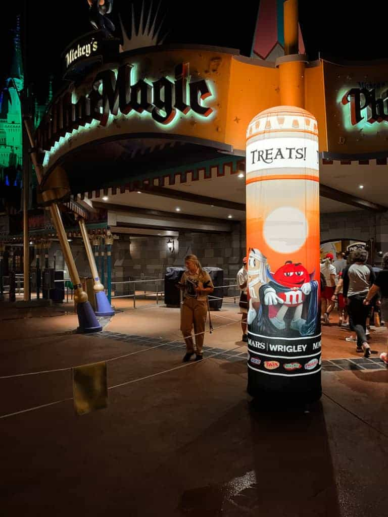 stations at Allergy Friendly Mickey's Not So Scary Halloween Party