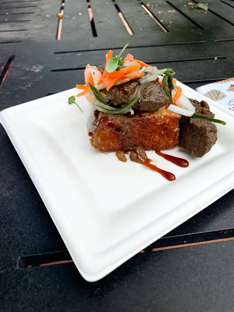 Food from Africa at the Epcot Food and Wine Festival