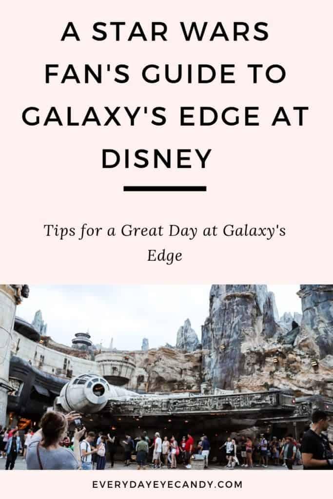 Galaxy's Edge at Disney World