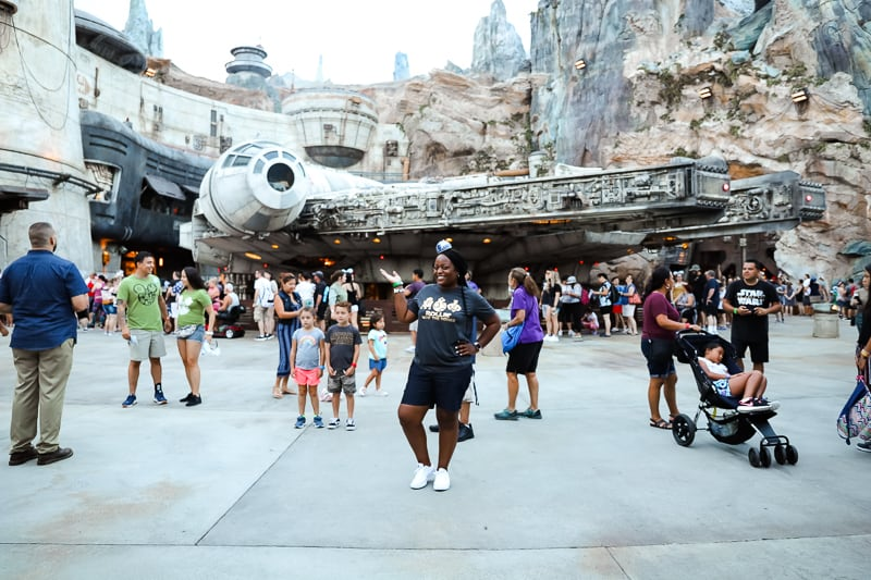 galaxy's edge at disney world