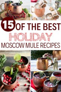 15 of the best holiday moscow mule recipes