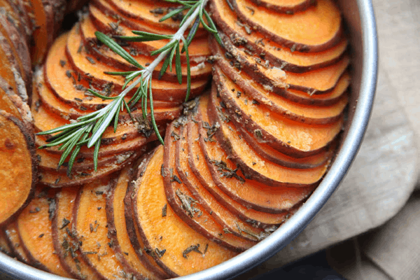 Crispy Roasted Sweet Potatoes | whole30, paleo, gluten free