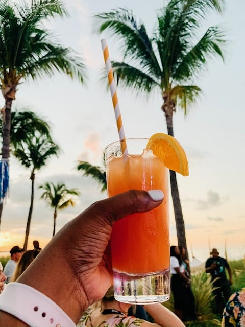 run punch at beaches turks and caicos