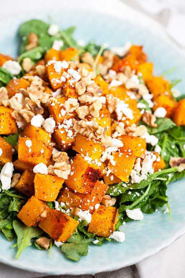 Spiced Butternut Squash Salad