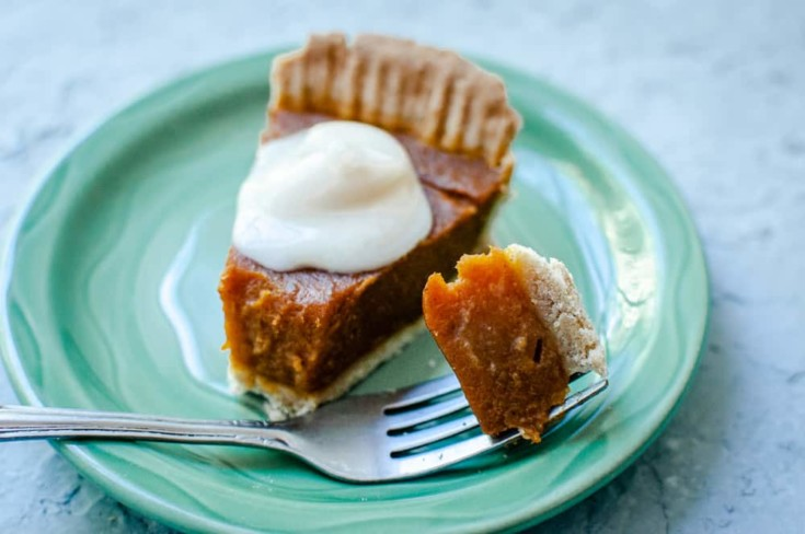 Gluten-Free Vegan Pumpkin Pie — MOON and spoon and yum