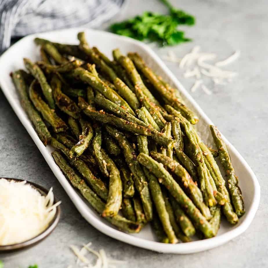 Parmesan Roasted Green Beans Recipe
