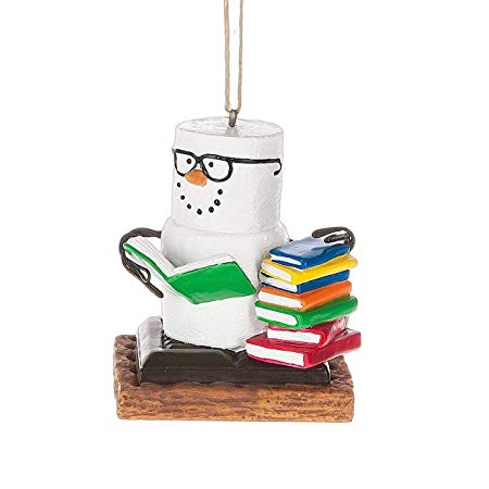 Book Lovers Book Nerd Christmas/Everyday Ornament Decoration