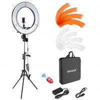 Neewer Ring Light Kit: Dimmable LED Ring Light,