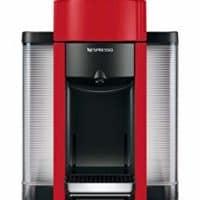 Nespresso by De'Longhi ENV135R Coffee and Espresso Machine by De'Longhi, Red