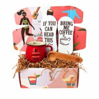 "The Java Joe Box"" - Coffee Accessory Gift Set - Packed with Fun and Unique Coffee Themed Items for Coffee Lovers by Silly Obsessions"