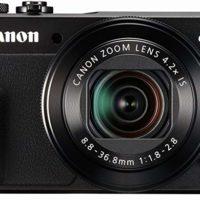 Canon PowerShot Digital Camera [G7 X Mark II] with Wi-Fi