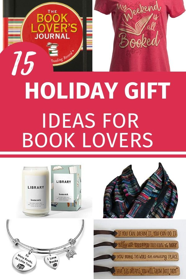 holiday gift ideas for book lovers
