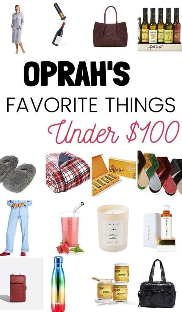 Oprah's Favorite Things Under $100 2019