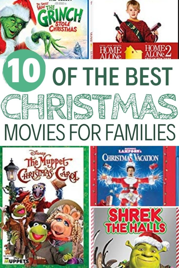 10 of the Best Christmas Movies for Families