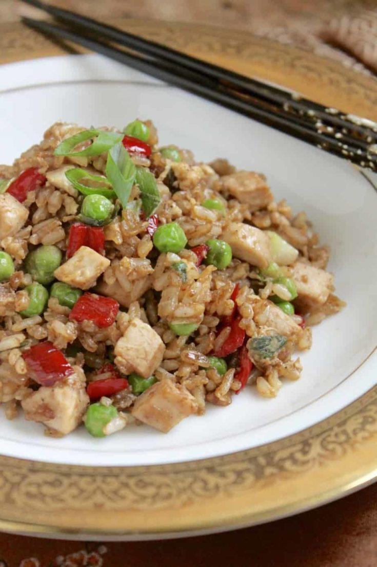 Leftover Turkey Fried Rice Recipe