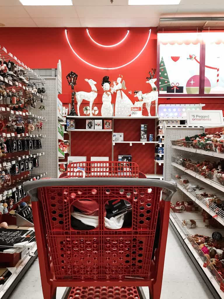 Avoid overspending at Target to protect your credit score during the holidays
