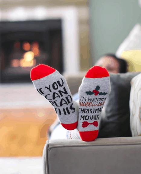 Hallmark Christmas Movie Socks