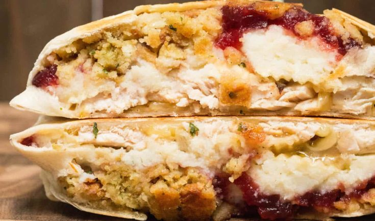 Thanksgiving Leftovers Crunchwrap Supreme Recipe