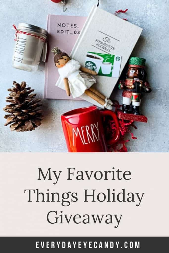 my favorite things holiday givewaway