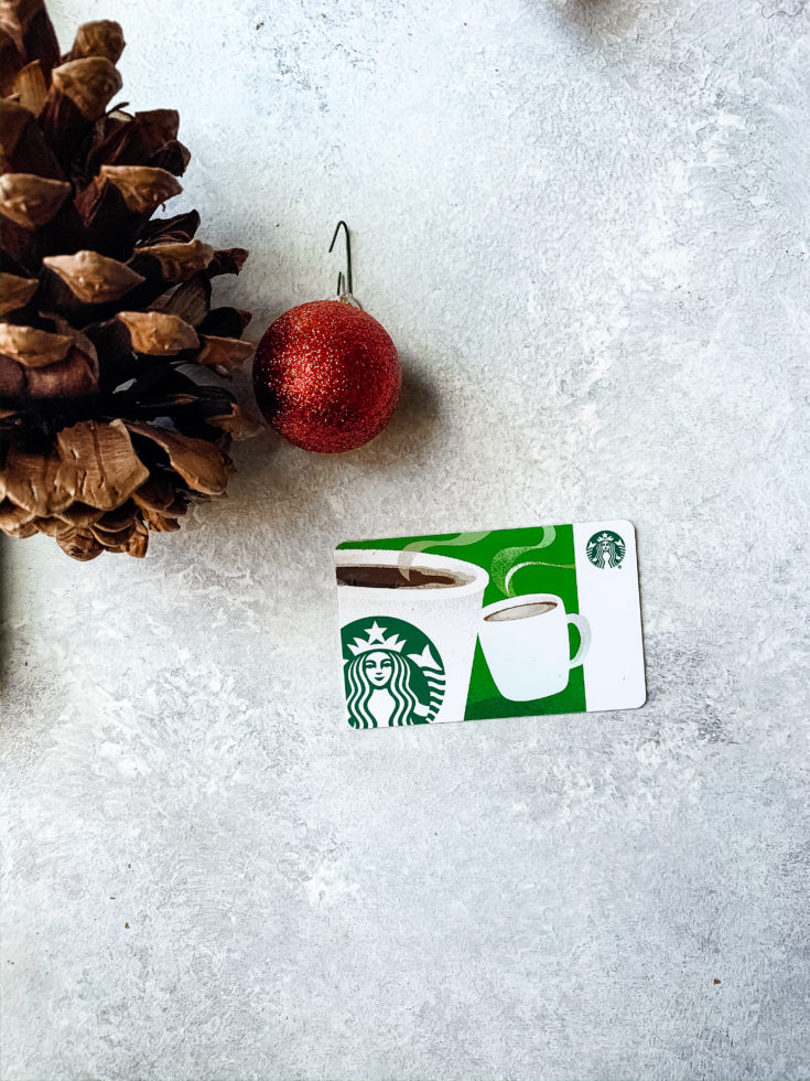 $10 Starbucks Gift Card!