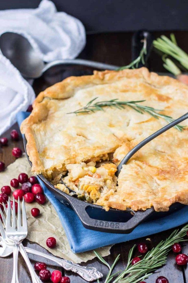 Turkey Pot Pie -- Great for Leftover Turkey!