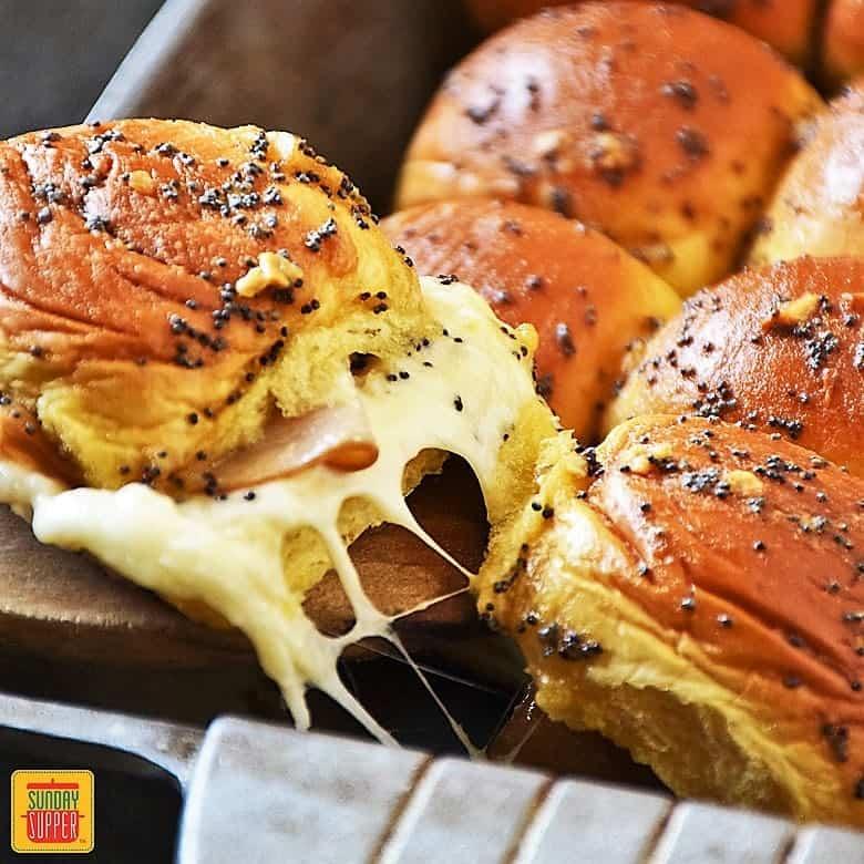 Turkey Sliders Recipe #SundaySupper