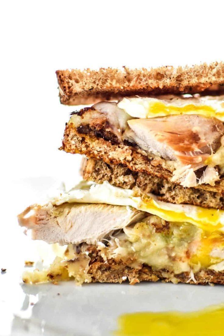 Ultimate Leftover Turkey Breakfast Sandwich