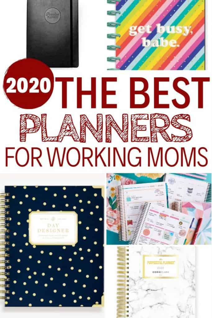 The Best Planners for Working Moms out there
