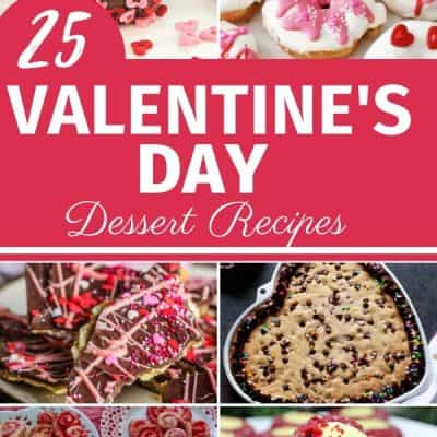 25 valentine's day dessert recipes