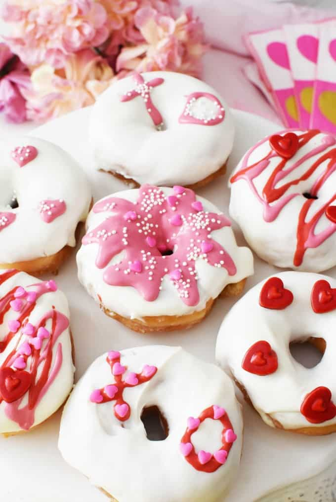 Love is in the Air with this DIY Valentine's Day Donuts Hack