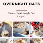 HOW TO MAKE OVERNIGHT OATS RECIPES