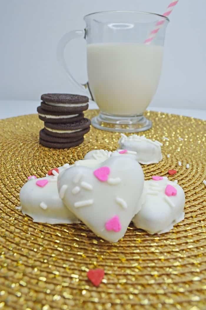 Valentine's Day Oreo Heart Truffles