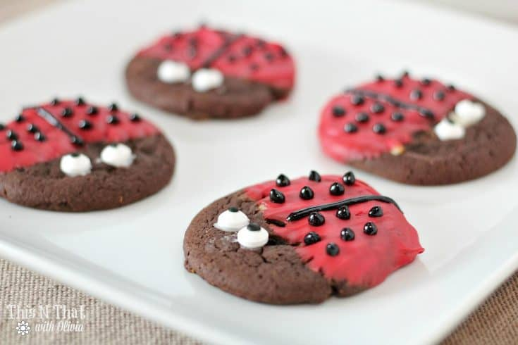 Valentine's Day Love Bug Cookies!